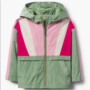 Gymboree girls rain jacket